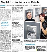 Bericht der Westdeutschen Zeitung vom 02.10.2007