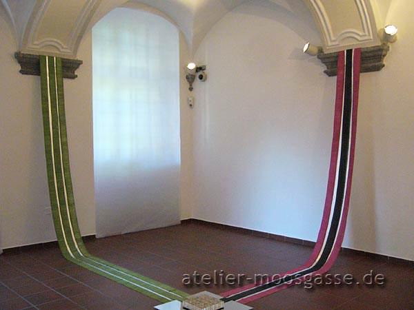 Teilansicht Nord-Ost - Installation von Barbara Herrmann-Lange